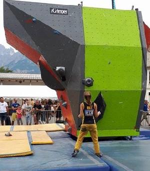 Во Франции финишировал восьмой этап молодежного Кубка Европы-2017 по скалолазанию.