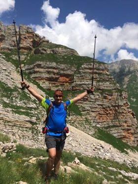 Зайнуллин Юрий - участник  фестиваля Red Fox Elbrus Race. 2017 год
