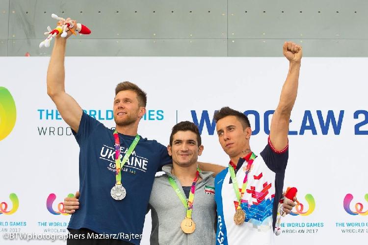 Даниил Болдырев - серебряный призер по скалолазанию Всемирных Игр 2017 года