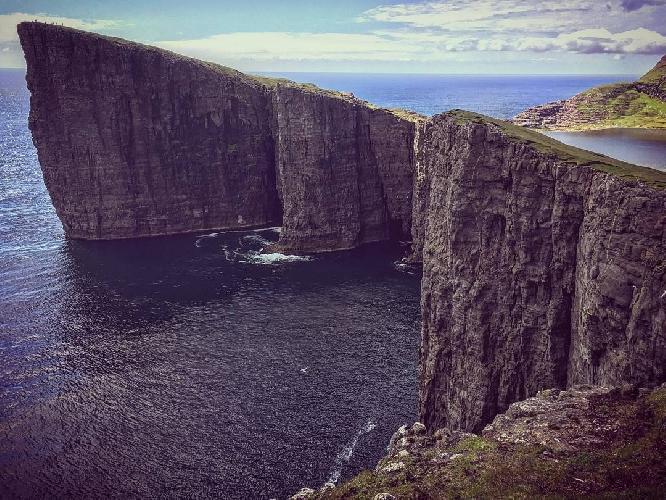мыс Энниберг на Фарерских островах