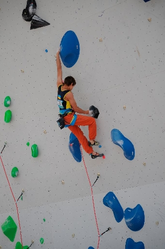 Самойлов Федор на этапе Кубка Мира в Шамони
