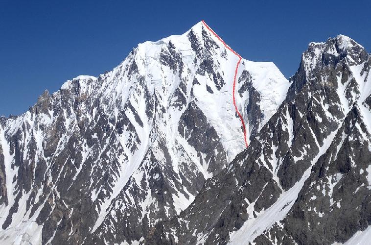 "Первый маршрут ""Ghotolti Dreams"" на вершину Джинна Пик (Jinnah Peak)"