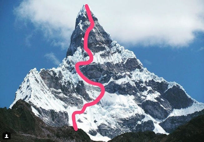 Новый маршрут на вершину Чакрараху  Восточная (Chacraraju Este)
