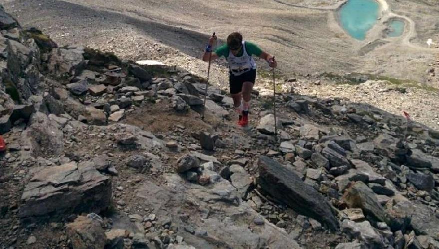Лука Боргони  - участник забега Cervino X-Trail