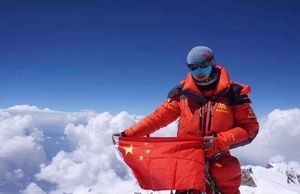 Альпинистка из Китая Ло Цзинг Ченг стала первой в своей стране, которая прошла 13 восьмитысячников