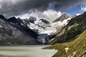 Фото дня: катастрофическое таяние ледников Альп