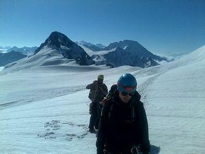 В горах Кавказа проходят альпсборы украинских альпинистов