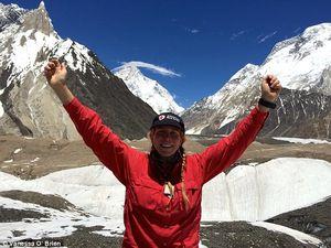Ванесса О'Брайен стала первой американкой, которая поднялась на вершину второго по высоте восьмитысячника мира - К2