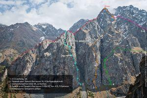 При восхождении на пик Октябрёнок в Казахстане погиб российский альпинист