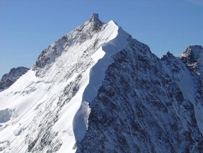 гребень Бьянкограт (Biancograt) на горе Бернина
