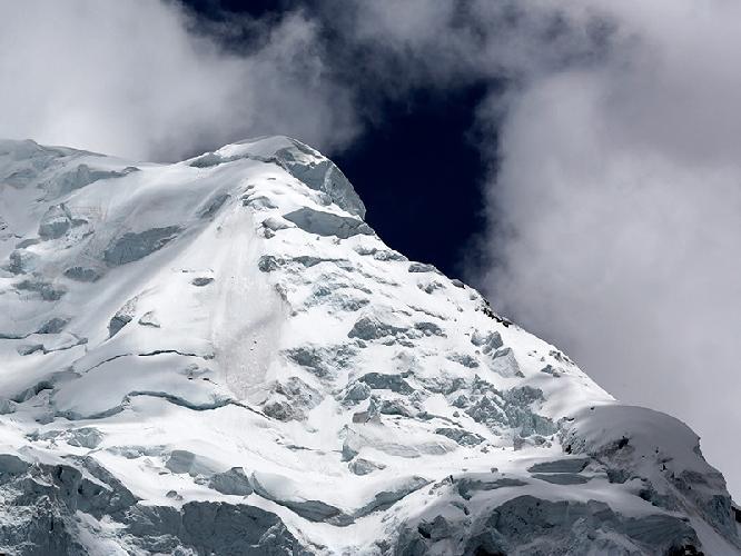 Вершина высочайшей горы в Перу - Уаскаран (Huascarán)