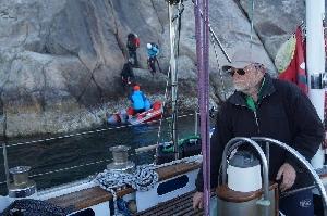 """22-веревочный маршрут """"Nightwatch"""" сложности 7с+ на  Западном побережье Гренландии,  Akuliaruseq и Kangeq"""