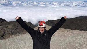 8-летняя американская девочка установила новый рекорд в альпинизме, поднявшись на вершину Килиманджаро