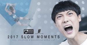 Лучшие моменты этапа Кубка Мира 2017 по боулдерингу в замедленной съемке