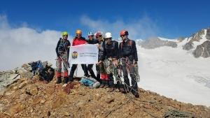 Альпинисты города Николаева совершили ряд восхождений в горах Грузии