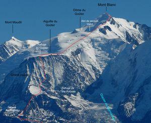 Безрассудство на Монблане: альпинист из Венгрии пытался провести на вершину горы двух 9-летних сыновей