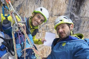 Итальянские альпинисты открыли новый маршрут на вершину Чима Овест ди Лаваредо