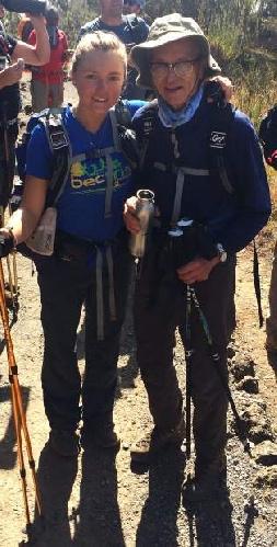 Фред Дистельхорст на Килиманджаро