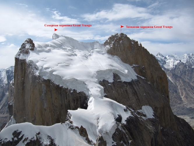Вид с высшей точки маршрута