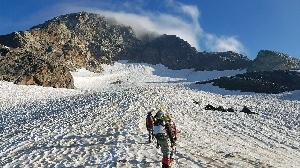 Тренировочные сборы в районе альплагеря Зесхо – Главный Кавказский Хребет, Грузия
