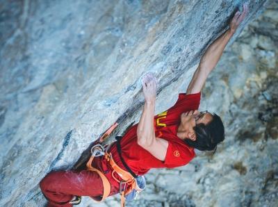 Эван Хау стал первым скалолазом из Канады, кто смог пройти сложность 9а+!