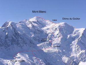 Украинский альпинист погиб при восхождении на Монблан