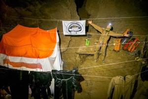Пещера имени Веревкина стала глубочайшей в мире, полностью доступной без подводного снаряжения