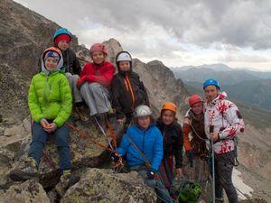 Скальные башни хребта Лашиира: впечатления украинских альпинистов