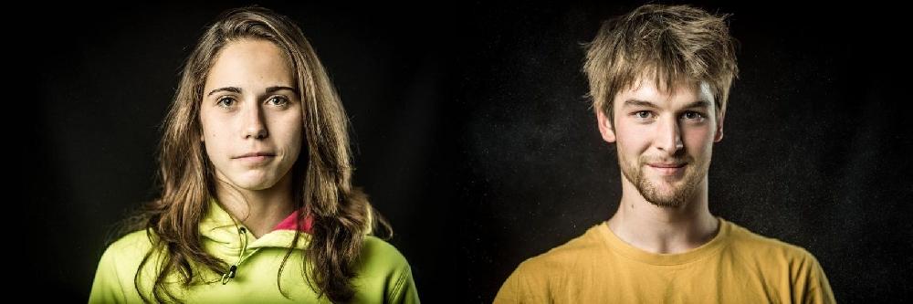 Сташа Гейо (Stasa Gejo) и Ян Хойер (Jan Hojer) - победители Чемпионата Европы по скалолазанию (боулдеринг) 2017 года