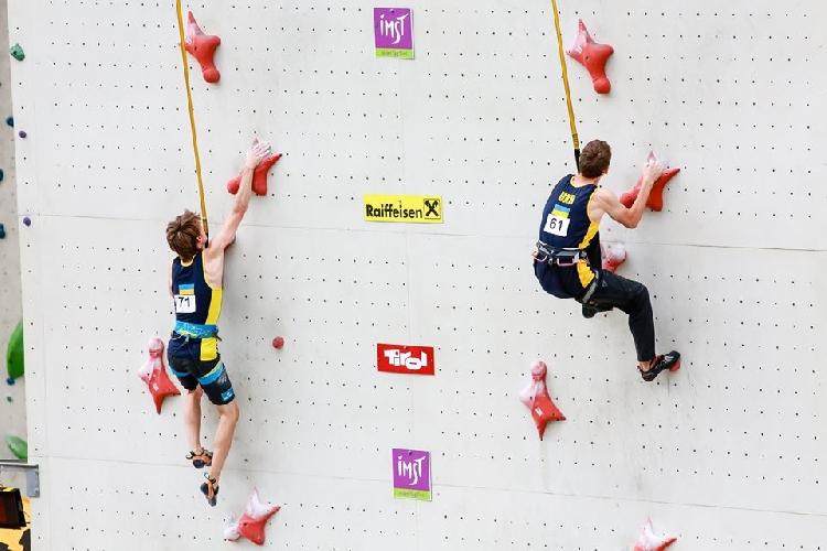 молодежный этап Кубка Европы по скалолазанию в дисциплине скорость в Имсте