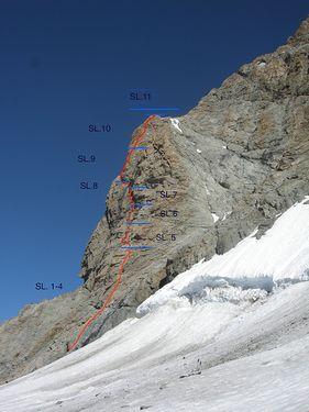 В Швейцарии открыт один из самых высокогорных скалолазных маршрутов в мире