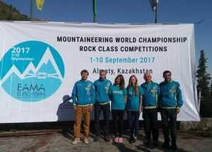 Чемпионат мира по альпинизму в скальном классе: день второй