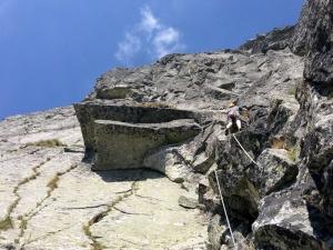 Как лазить альпинистские маршруты быстрее