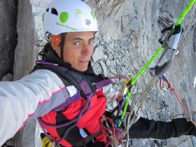 Сильвия Видаль (Sílvia Vidal) на маршруте Un pas més