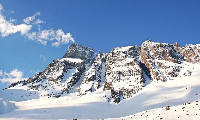 массив горы Серро Аренас (Cerro Arenas, 4020 м), Чили.