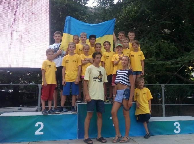 Украинская команда на ROCK JUNIOR 2017