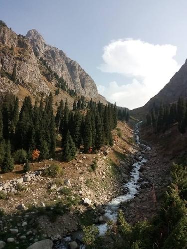 ущелье Туюк-Су, Казахстан.