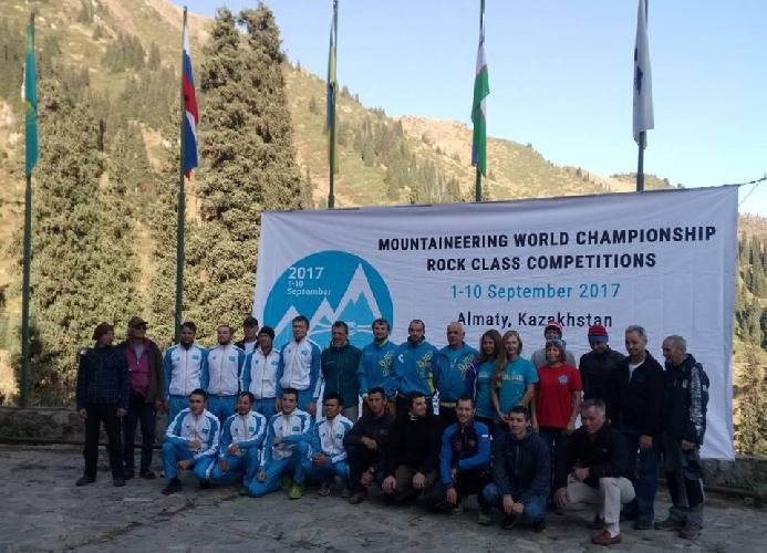 Чемпионат Мира по альпинизму в скальном классе 2017