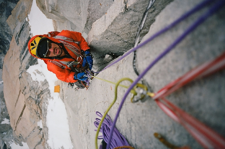 """Маршрут на вершину Безымянной Башни Транго ( Trango Nameless, 6250 метров) в Пакистане. Комбинация нового российского маршрута и маршрута """"Claire de Lune"""" 1999 года"""