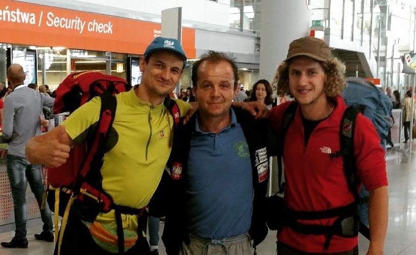 Адам Белецкий (Adam Bielecki), Ячек Чех (Jacek Czech)и Павел Мигас (Paweł Migas)