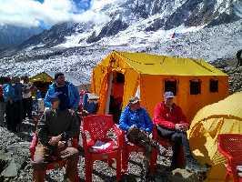 Манаслу 2017: базовый лагерь и церемония пуджа