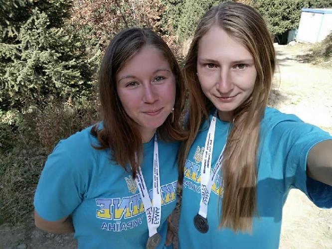 Надежда Гончаренко и Александра Тихонова из Одессы