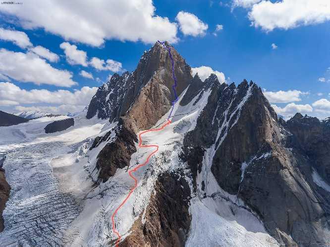 маршрут Summer Bouquet  на вершину пика Блока