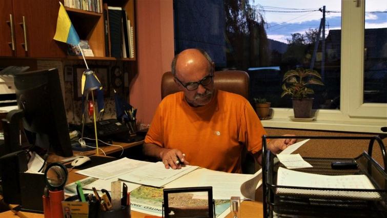 Василь Кобилюк, керівник Верховинської групи гірських рятувальників. Фото автора