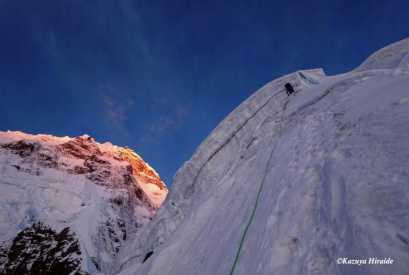 Выше первого высотного лагеря