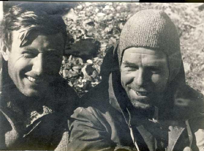 1951 г. - Кирилл Кузьмин и Фердинанд Кропф.
