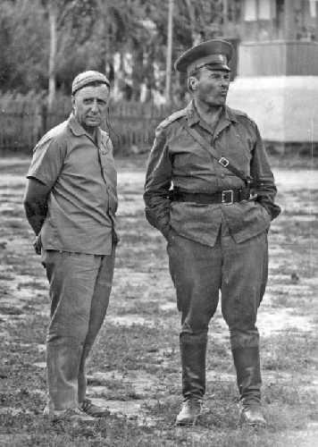 1960 г. Кирилл Кузьмин и Владимир Рацек.
