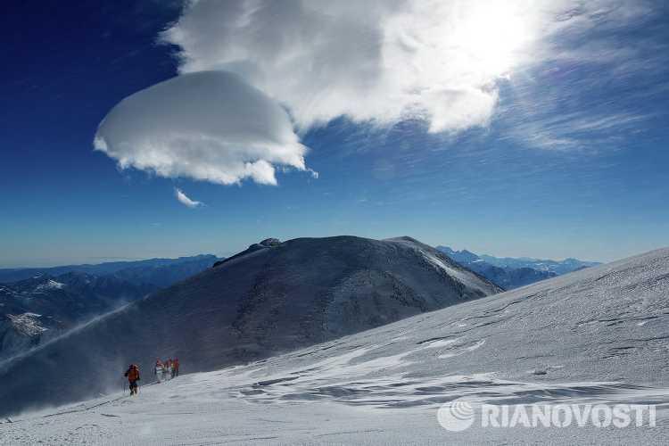 У вершины Эльбруса
