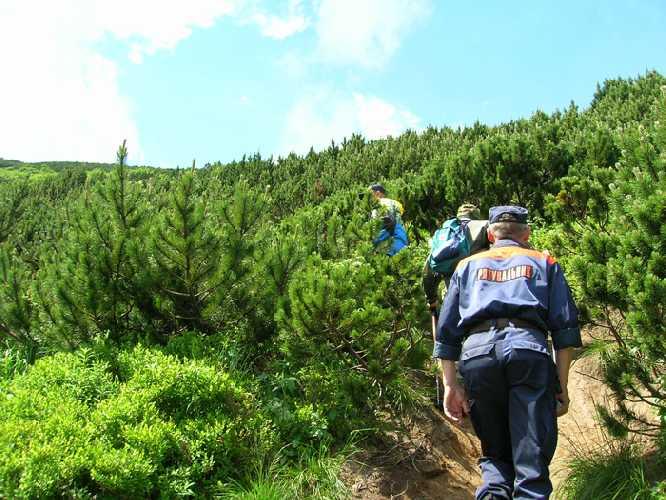 Гірські пошуково-рятувальні підрозділи є у п'яти областях України. Фото Закарпаття онлайн