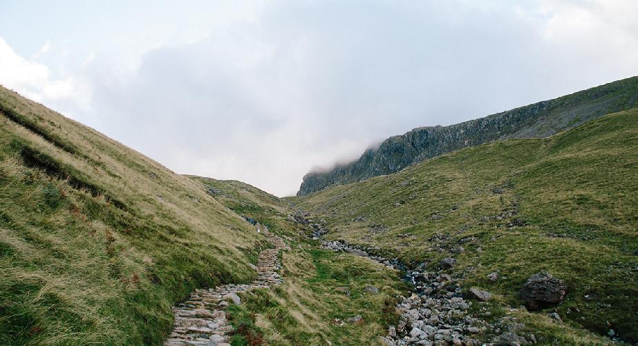 маршрут по горным вершинам Англии и Уэльса.